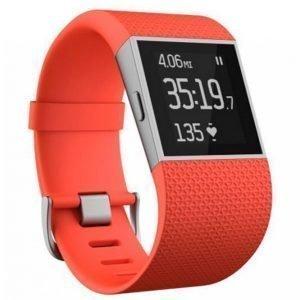 Fitbit Surge Tangerine Small Aktiivisuusranneke / Kello
