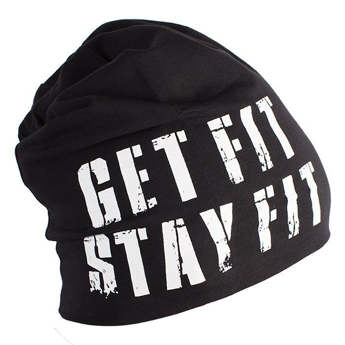 Fitnesstukku Beanie Black