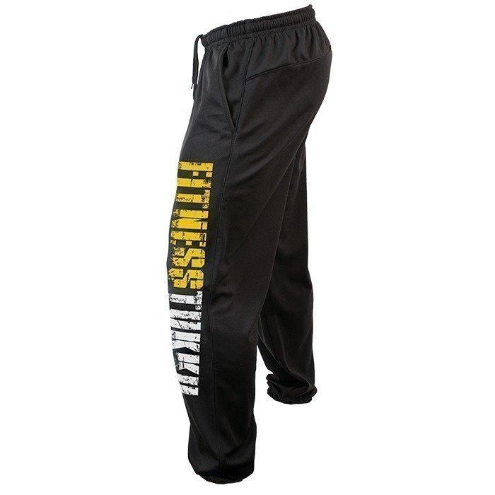Fitnesstukku Gym Pants Black Men XXL