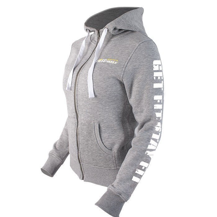 Fitnesstukku Hoodie Grey Women S