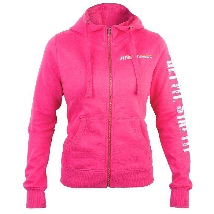 Fitnesstukku Hoodie Pink Women L