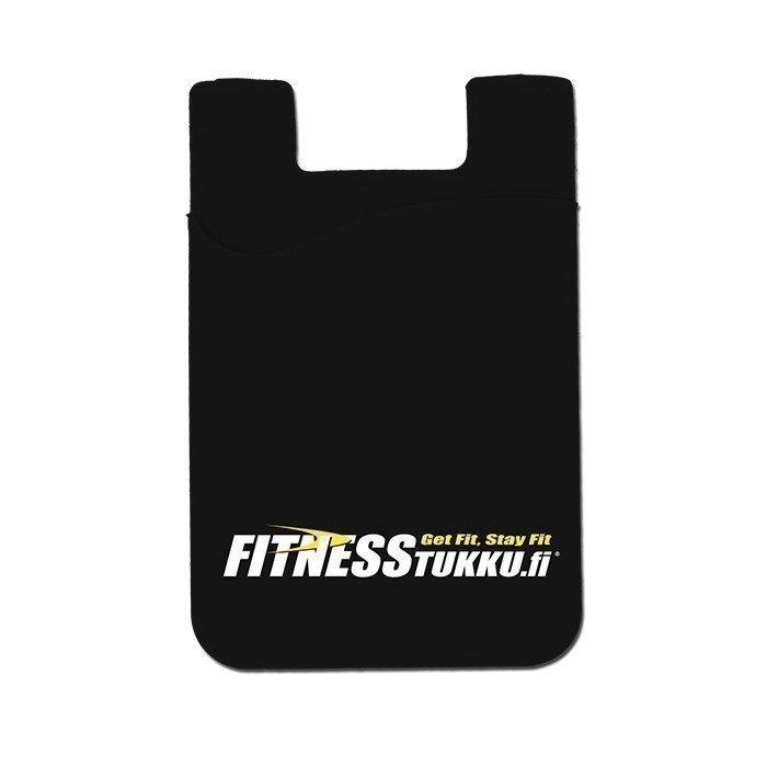 Fitnesstukku Silicone Card Holder Black