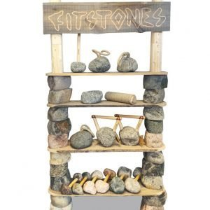 Fitstones Kahvakuula Graniitti 4 Kg