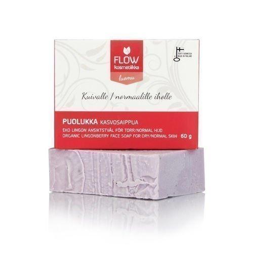 Flow Kosmetiikka Puolukka kasvosaippua 60g