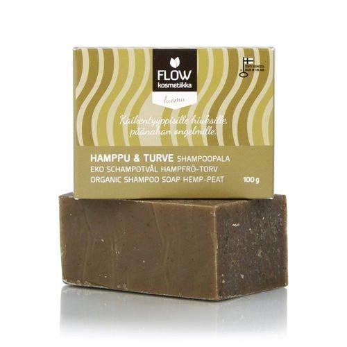 Flow Kosmetiikka Shampoopala Hamppu-turve 100g