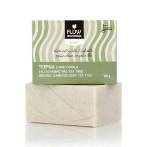 Flow kosmetiikka Shampoopala Teepuu 100g