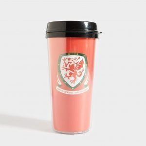 Forever Collectables Fa Wales Travel Mug Punainen
