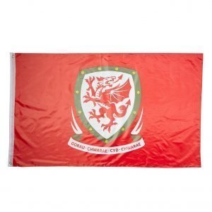 Forever Collectables Wales Fa Flag Valkoinen
