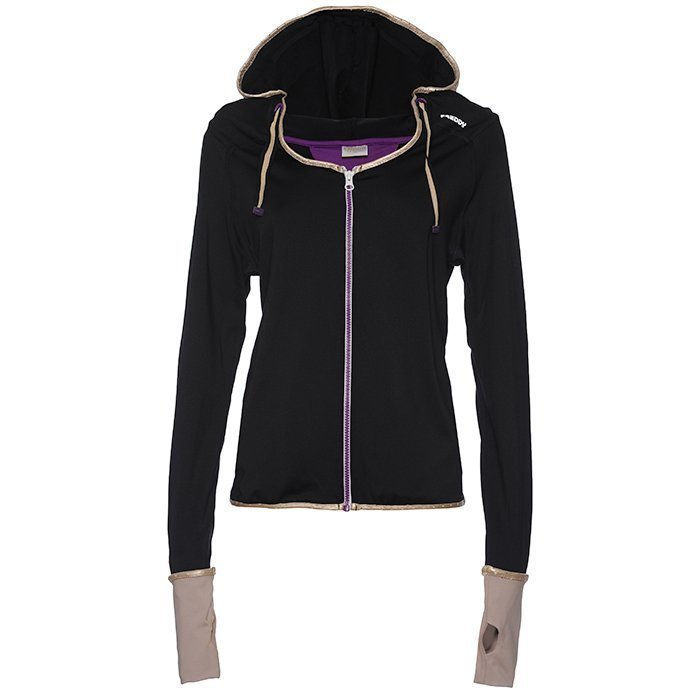 Freddy Pure Active Hoodie black