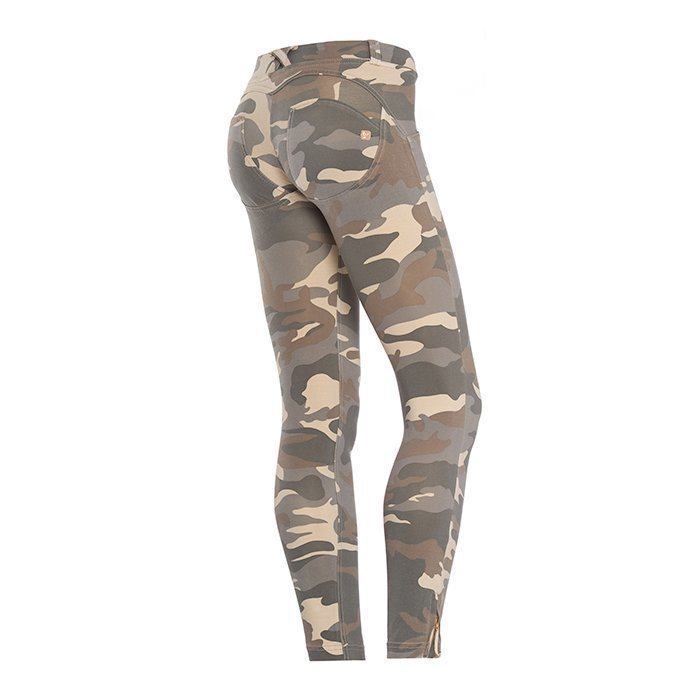 Freddy WRUP Pants Skinny Fit grey camo