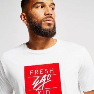 Fresh Ego Kid Box Logo T-Paita Valkoinen