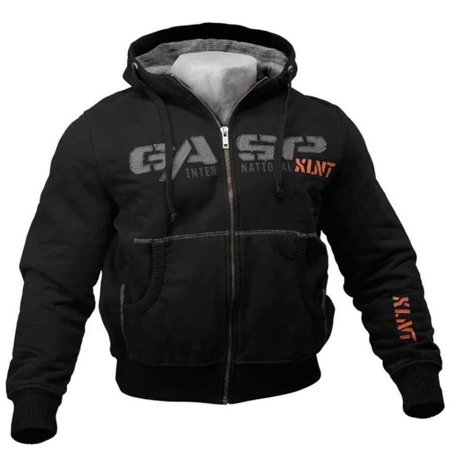 GASP 12Ibs Hoody Black XL Musta