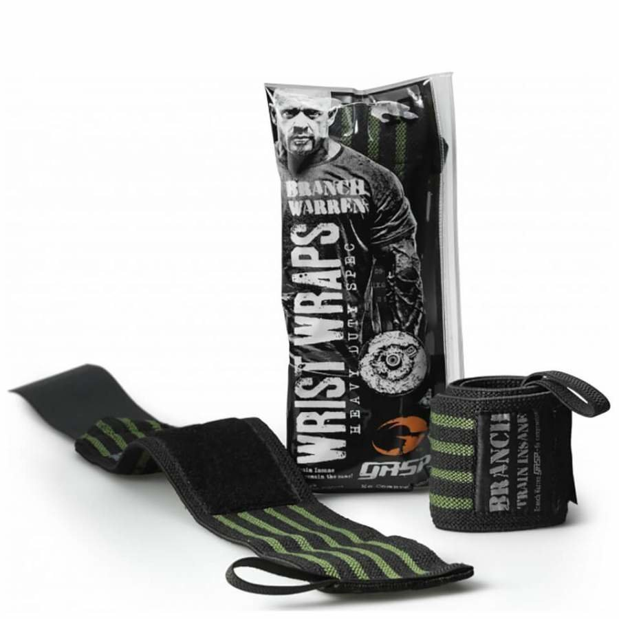 GASP Branch 18 Inch Wrist Wrap Black