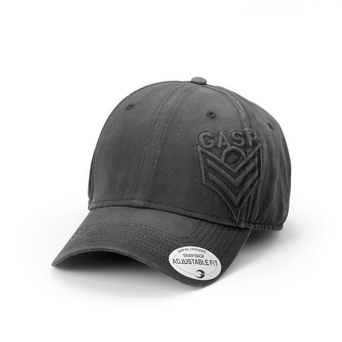GASP Broad Street Cap Black