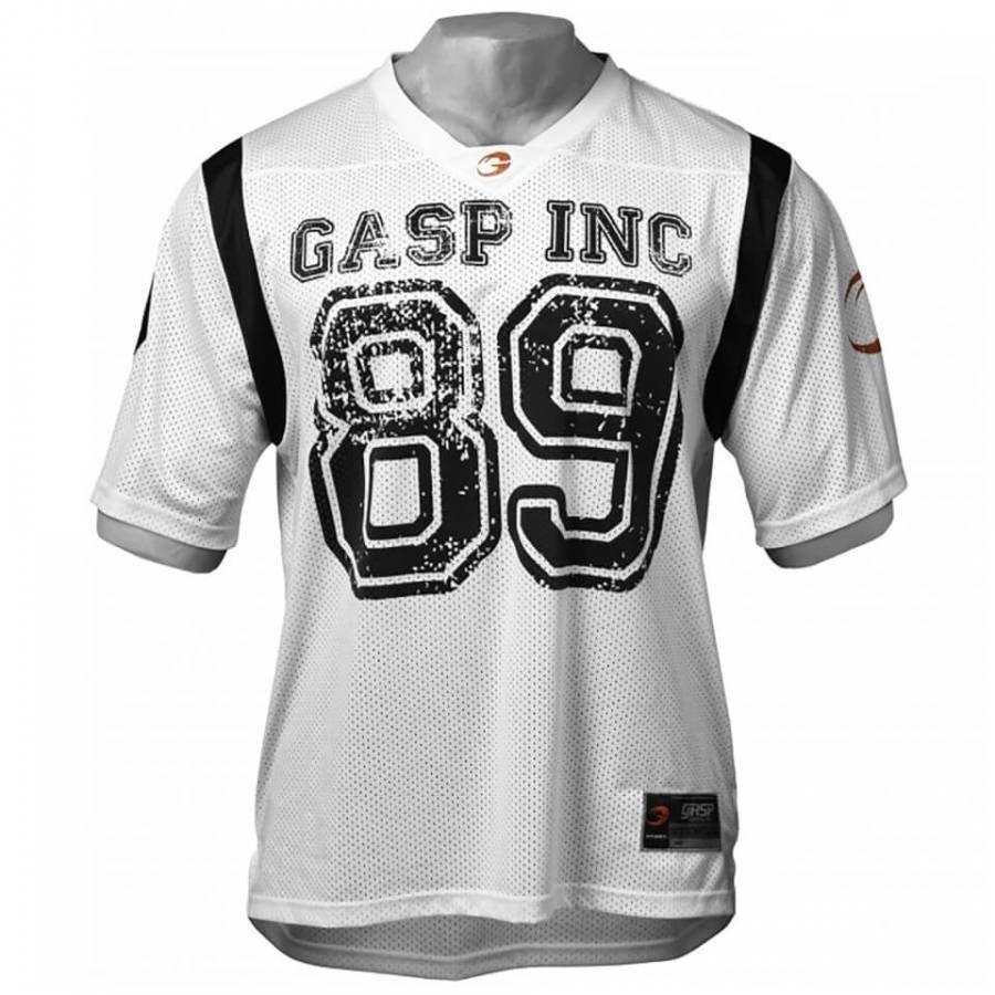 GASP Football Jersey White XXL Valkoinen