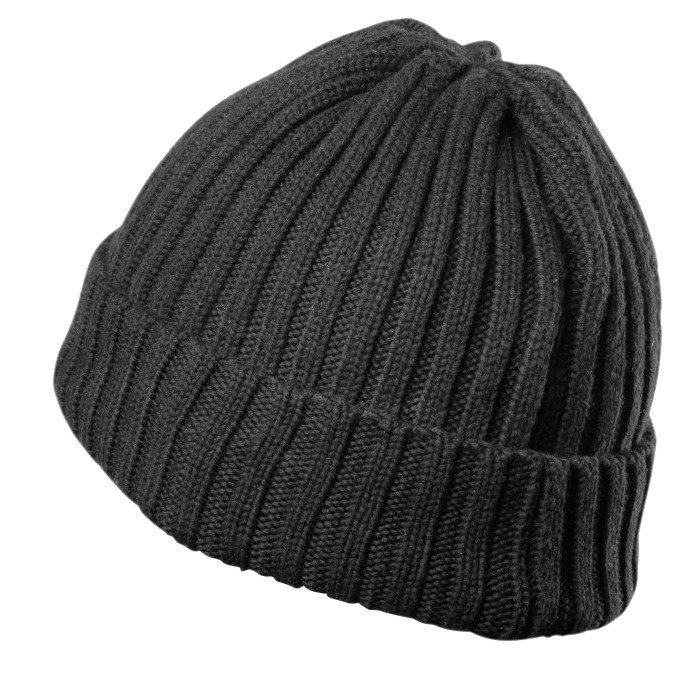 GASP Heavy Knitted Hat black one size