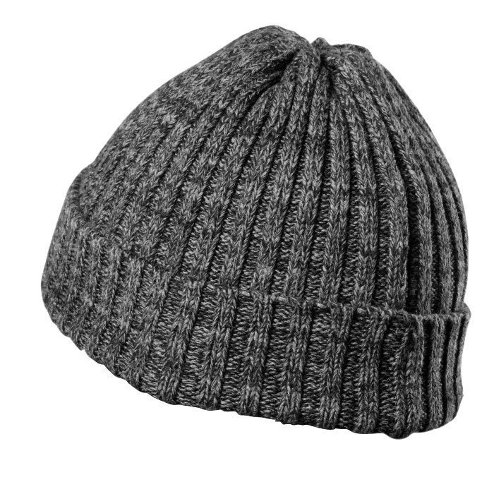 GASP Heavy Knitted Hat metal one size