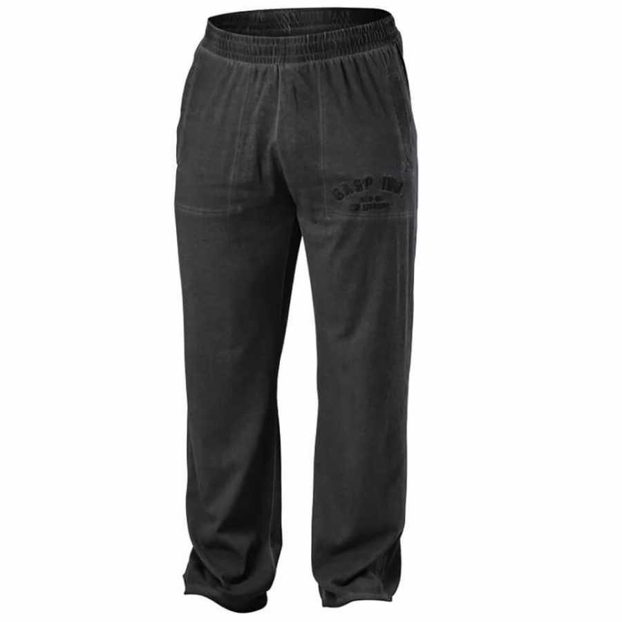 GASP Heritage Pants Wash Black XXL Musta
