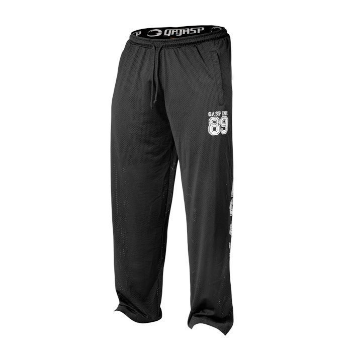 GASP Mesh Pants black L
