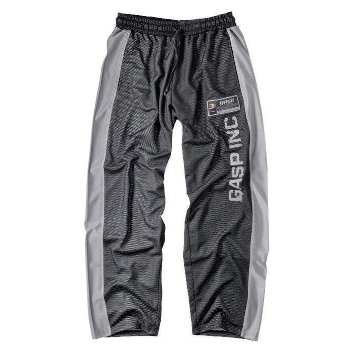 GASP No 1 mesh pant black/grey Small