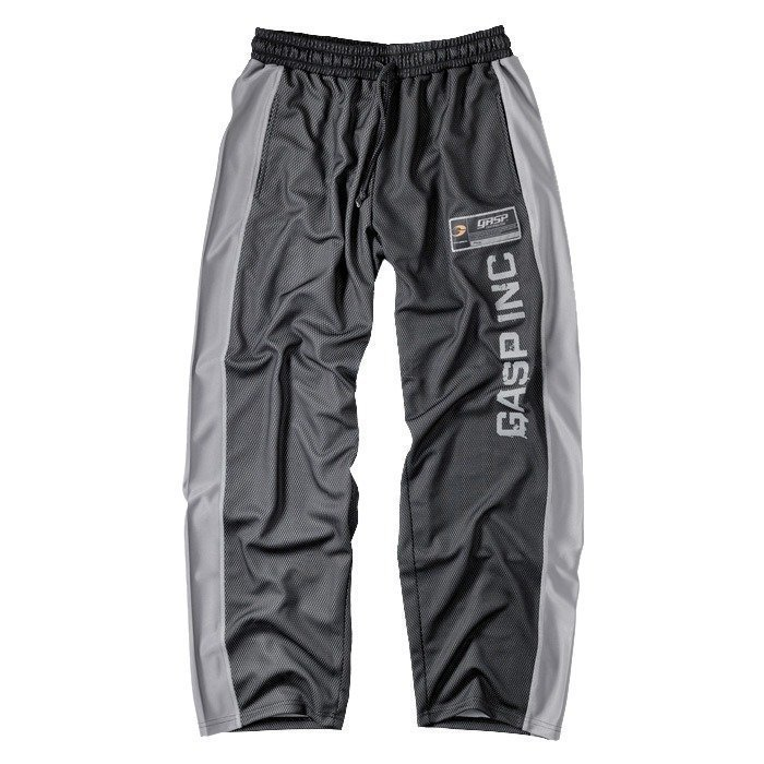 GASP No 1 mesh pant black/grey