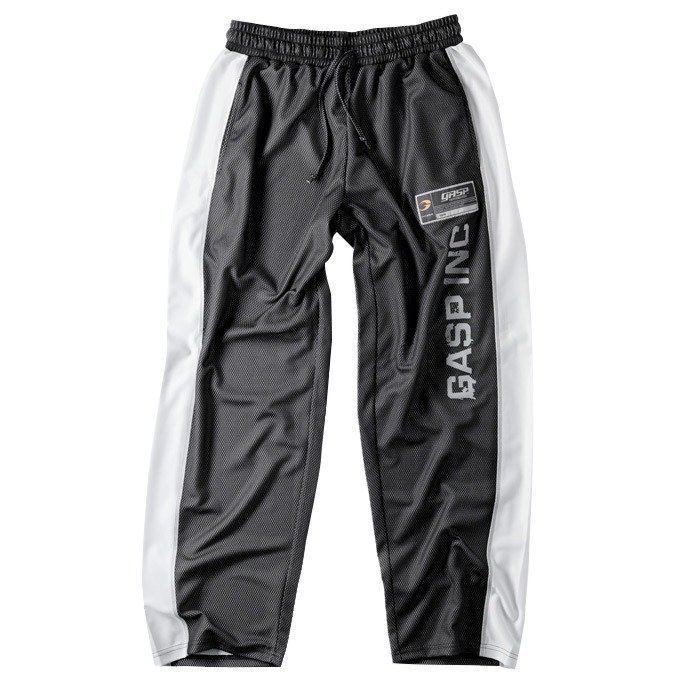 GASP No 1 mesh pant black/white Medium