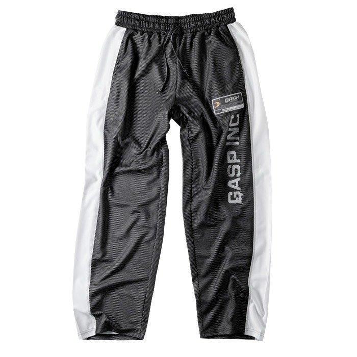 GASP No 1 mesh pant black/white