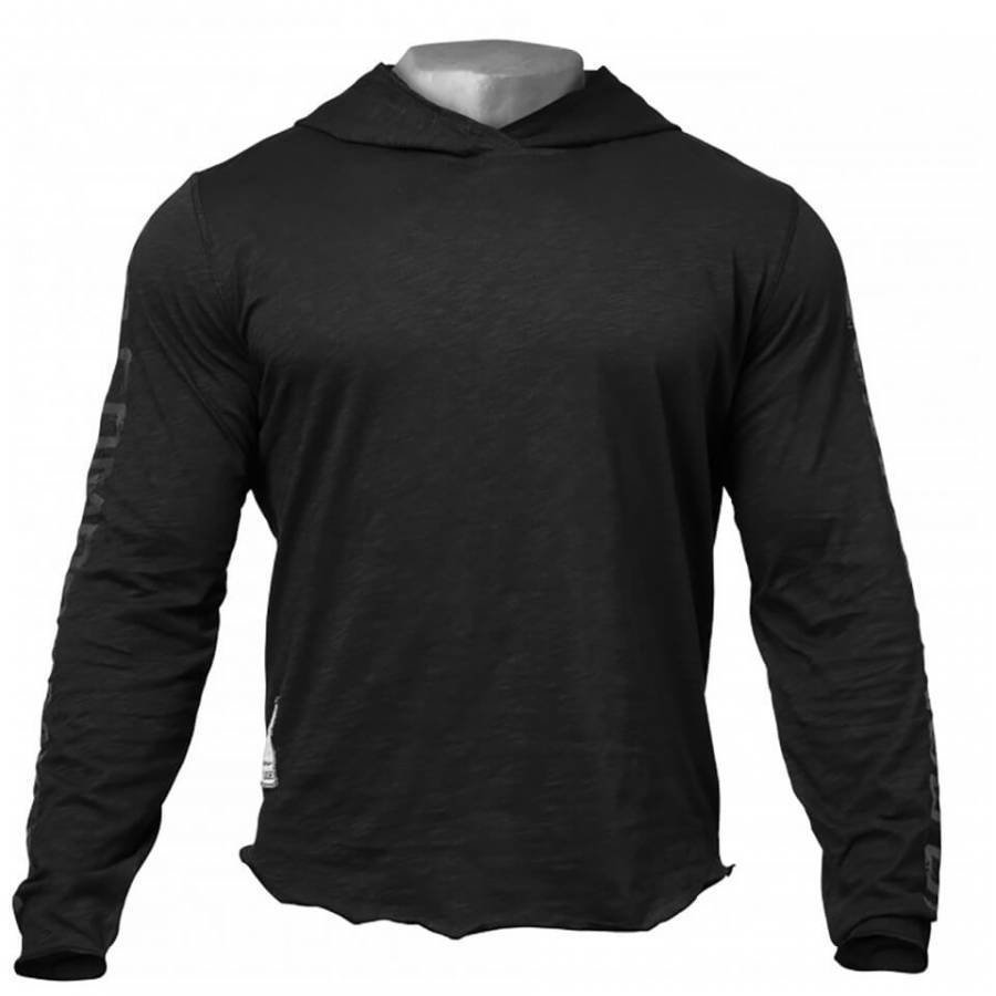 GASP No Compromise Hoody Black L Musta