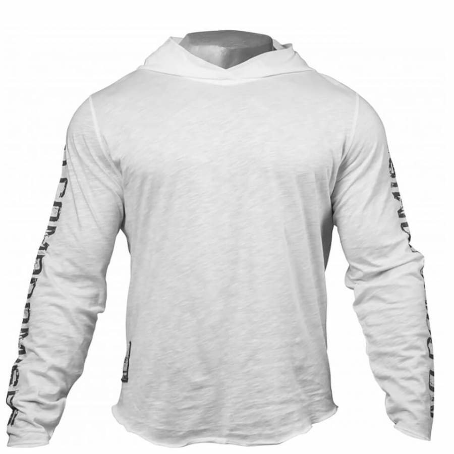 GASP No Compromise Hoody White L Valkoinen