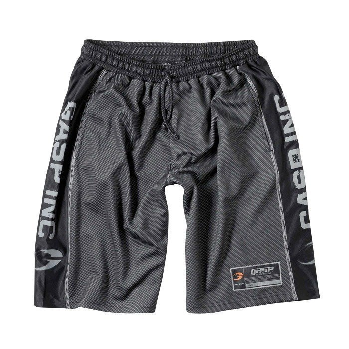 GASP No1 Mesh Shorts Black L