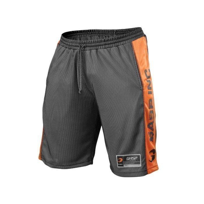GASP No1 Mesh Shorts black/flame M