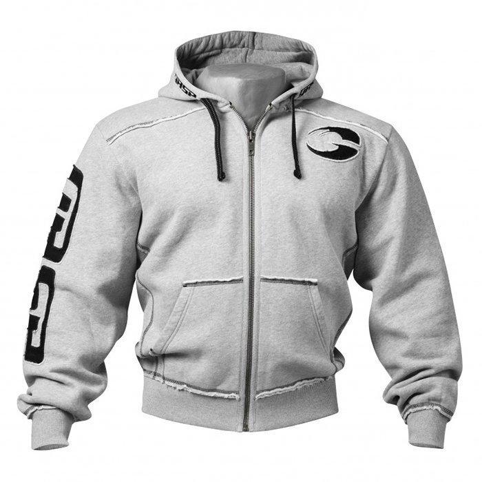 GASP Pro Gym Hood Greymelange Medium