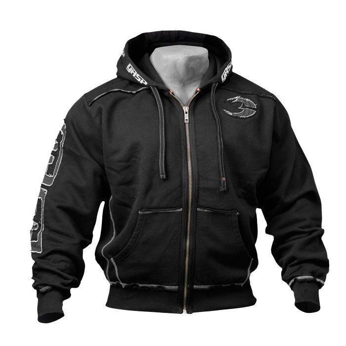 GASP Pro Gym Hood black M
