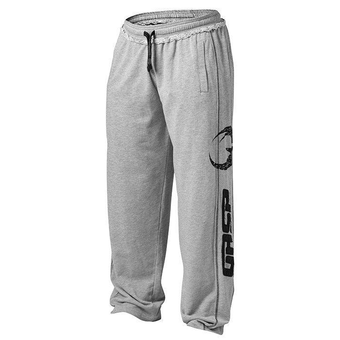 GASP Pro Gym Pant Greymelange Large
