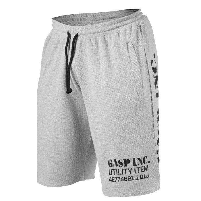 GASP Thermal Shorts grey melange XXL