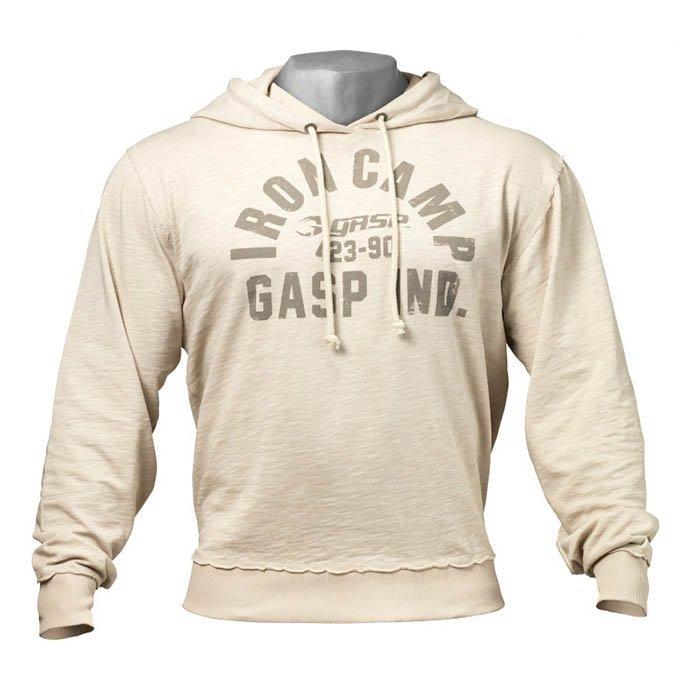GASP Throwback Hoodie cement M