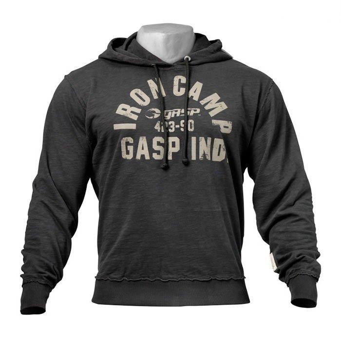 GASP Throwback Hoodie wash black XL