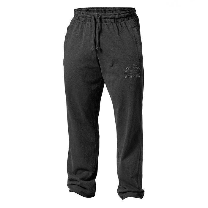 GASP Throwback Str Pant Wash Black S