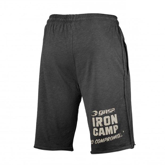 GASP Throwback Sweatshorts wash black XL