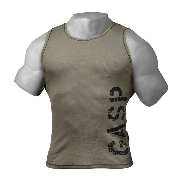 GASP Utility Rib Tank wash green XL