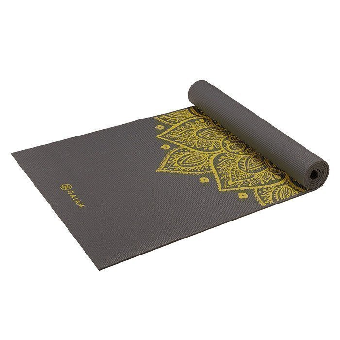 Gaiam Citron Sundial Yoga Mat 5MM