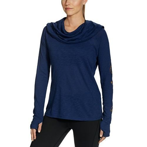 Gaiam Emery Cowl Tunic Midnight