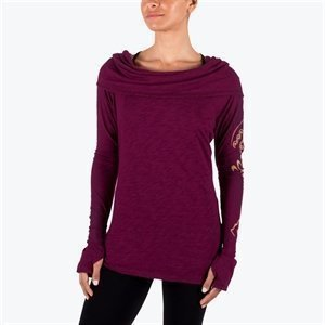 Gaiam Emery Cowl Tunic Wine