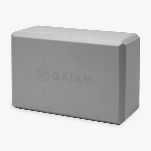 Gaiam Essential Yoga Block Grey