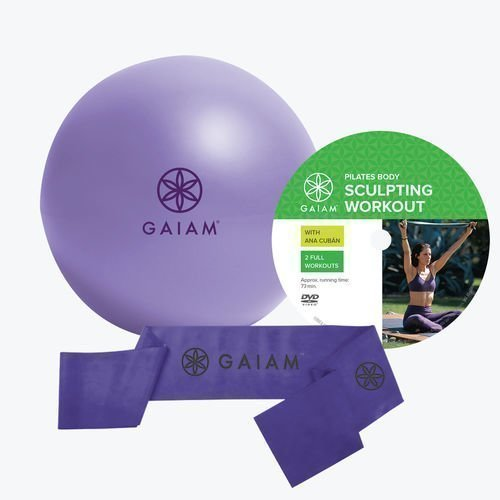 Gaiam Pilates Beginners Kit 3 os. setti