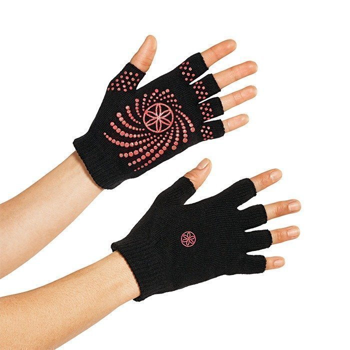 Gaiam Pink Grippy Yoga Gloves
