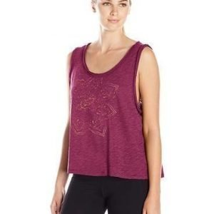 Gaiam Willow Crop Top Wine