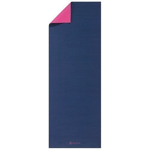 Gaiam Yoga mat 3mm 2 color Navy&Pink