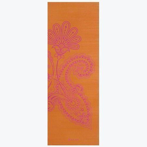 Gaiam Yoga mat 3mm Paisley Flower