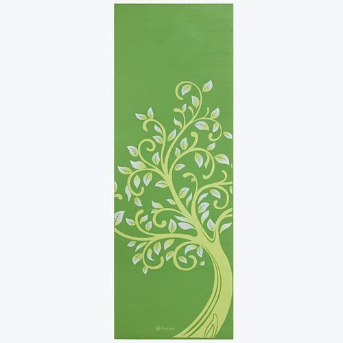 Gaiam Yoga mat 3mm Tree of Wisdom
